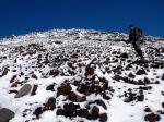 Towards the top of Mount Ngauruhoe